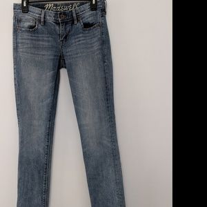 Madewell Rail Straight Jeans Sz 26